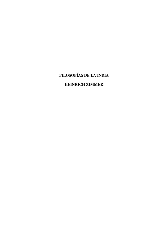 Filosofias de las Indias by Biblioteca deClio - issuu