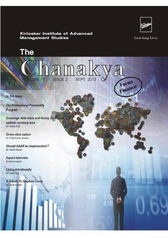 The Chanakya_Sept '12 by KIAMS - issuu
