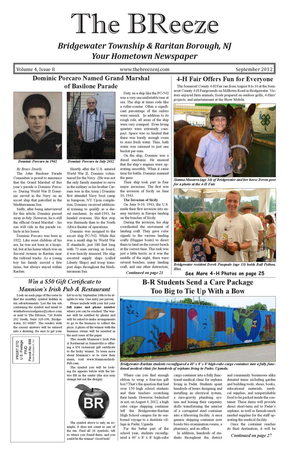 The BReeze - September 2012 by Wendy Doheny - issuu