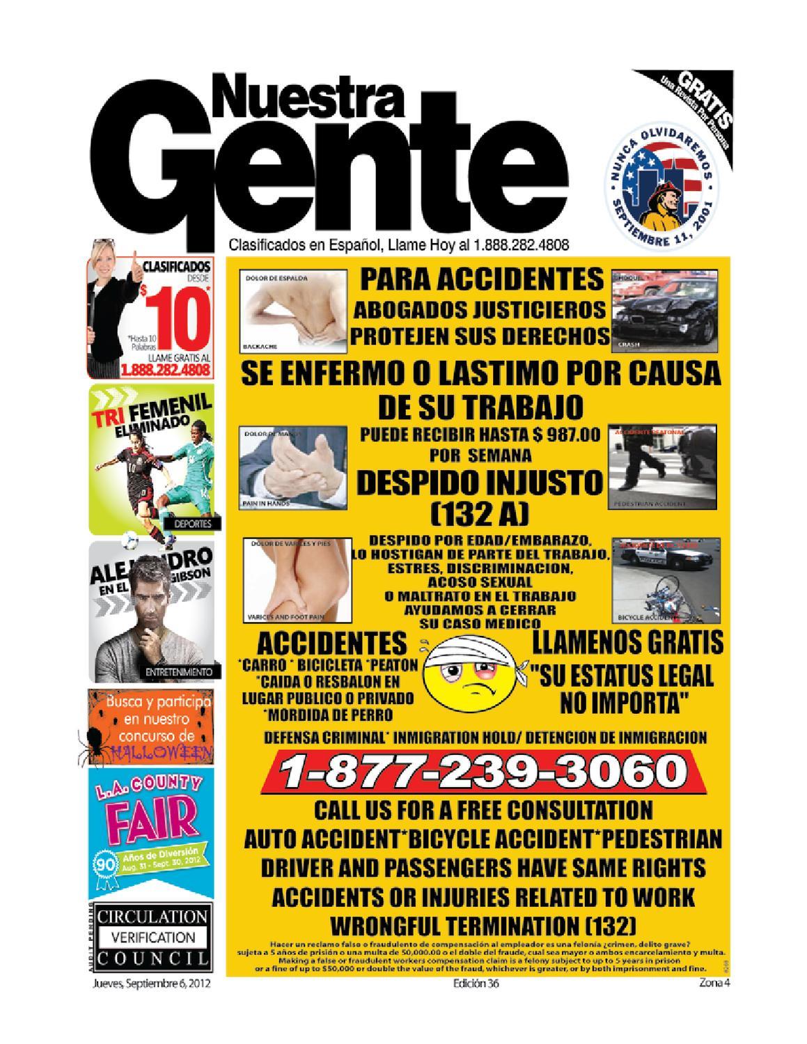 fa2fa00a0044c Nuestra Gente Edicion 36 Zona 4 by Nuestra Gente - issuu