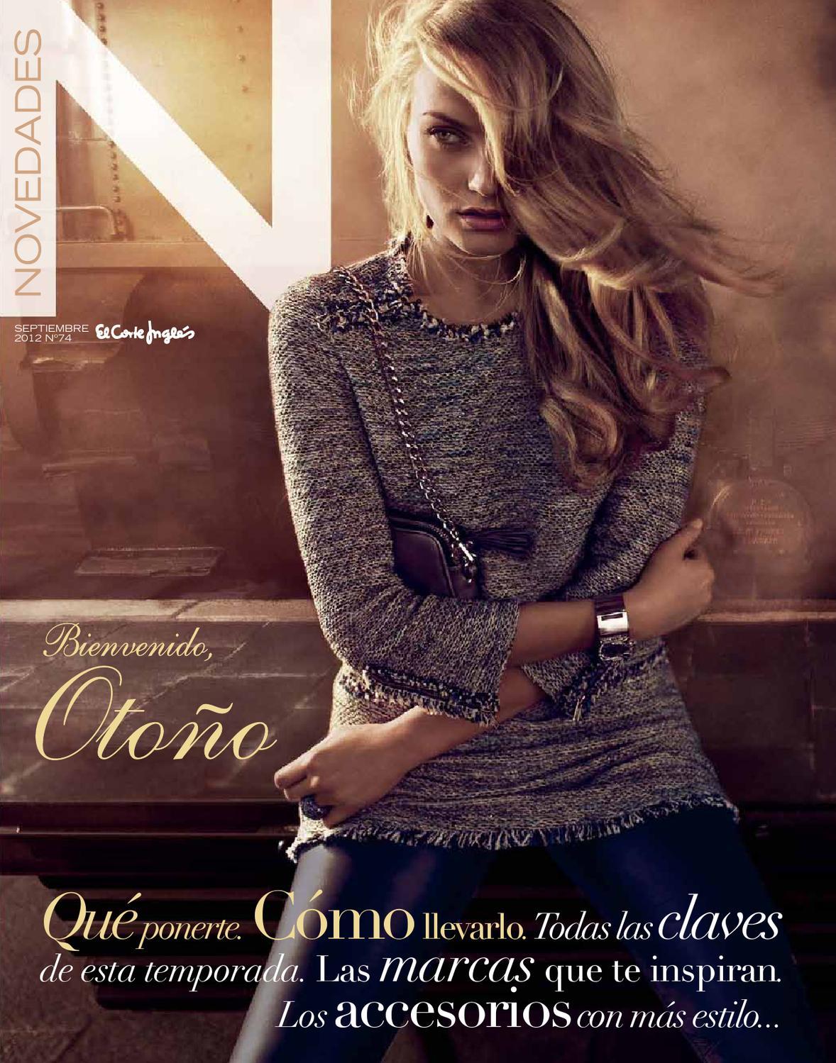 Revista Novedades El Corte Ingles Septiembre 2012 By  ~ Album De Fotos Tradicional El Corte Ingles