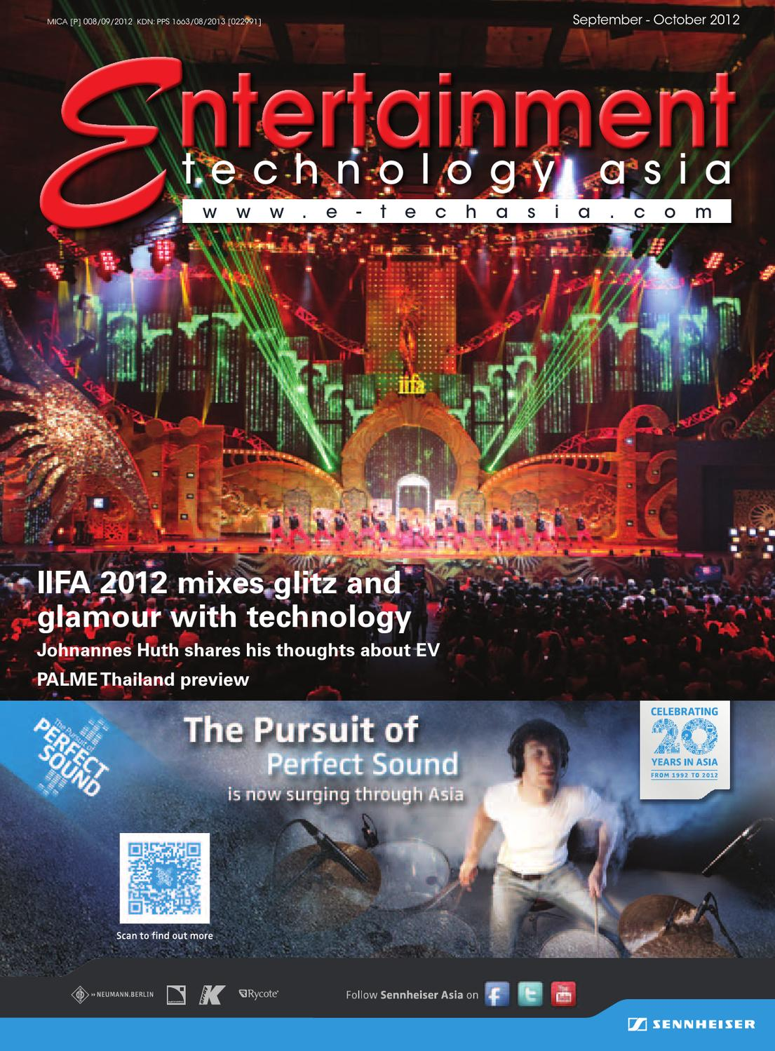 Entertainment Technology Asia September-October 2012 by