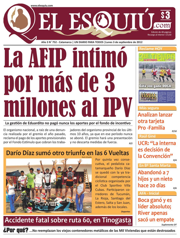 El Esquiu Com Lunes 3 De Septiembre De 2012 By Editorial El Esqui  # Muebles Yoma Antofagasta