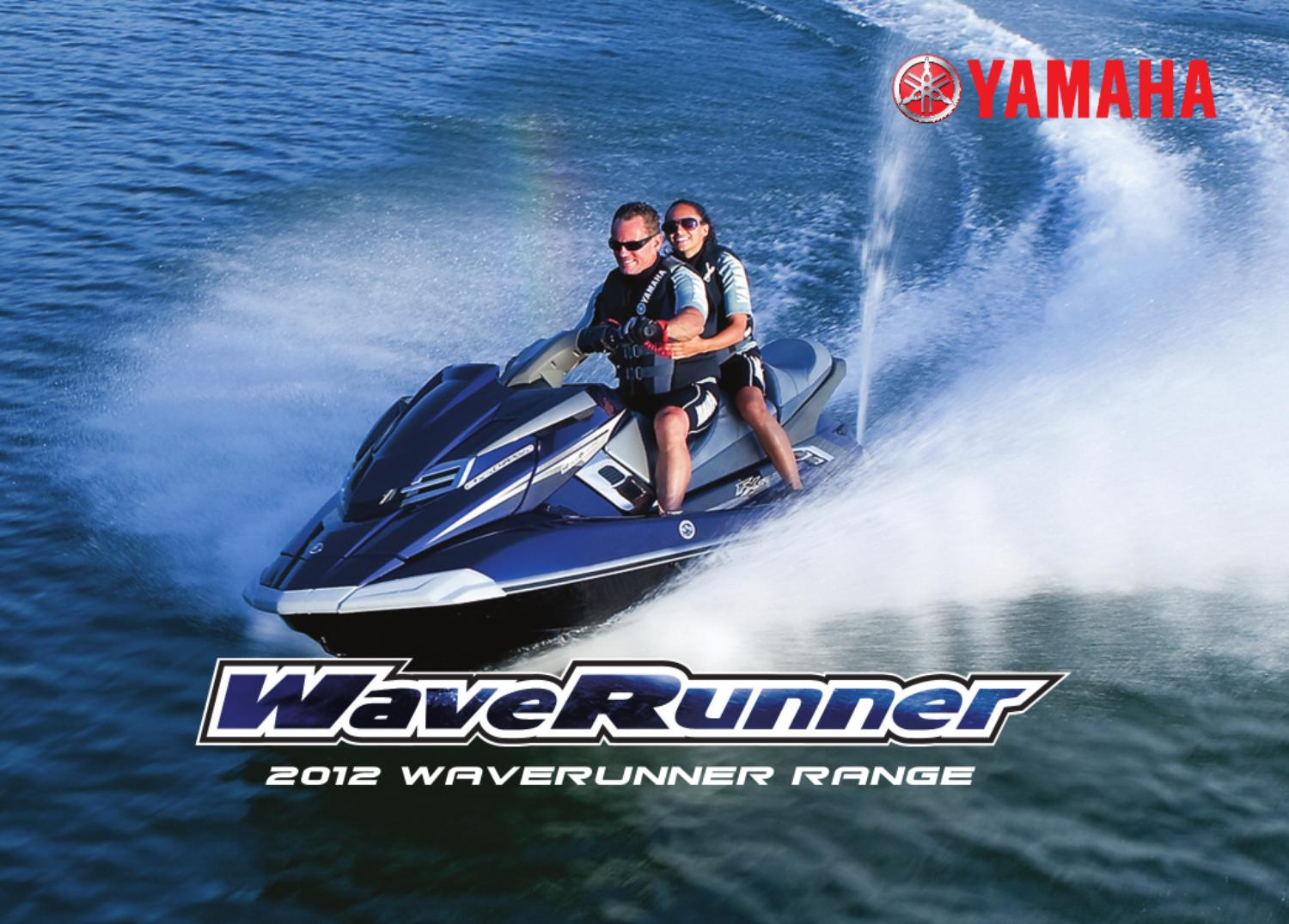 2012 yamaha waverunner brochure by issuu for 2012 yamaha waverunner