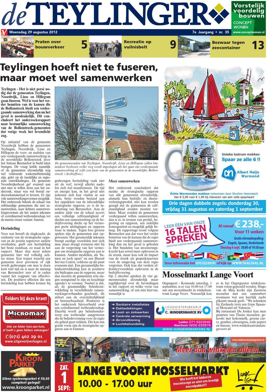82e13b891f7a26 TL week 35 12 by Uitgeverij Verhagen - issuu