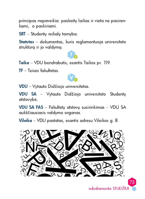 Subalansuota STUDŽIUI ir ne tik 2012 by Vytautas Magnus