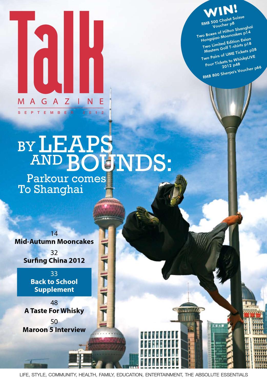 Shanghai Talk Magazine September 2012 By Mike Hall Issuu