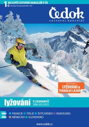 Lyžování v zahraničí 2012 2013 by CK Čedok a.s. - issuu 7df7d24938