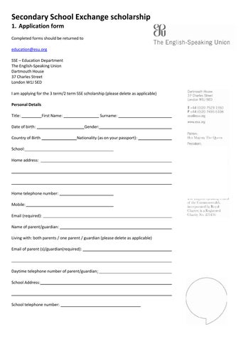 1-SSE-application-form by The English-Speaking Union - issuu on application meaning in science, application to join motorcycle club, application in spanish, application insights, application clip art, application to rent california, application submitted, application to date my son, application approved, application cartoon, application template, application service provider, application error, application to be my boyfriend, application to join a club, application for employment, application for scholarship sample, application database diagram, application for rental, application trial,