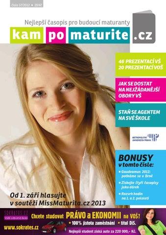 8d2204ac8df Časopis KamPoMaturitě.CZ duben 2012 by AMOS – KamPoMaturite.cz ...