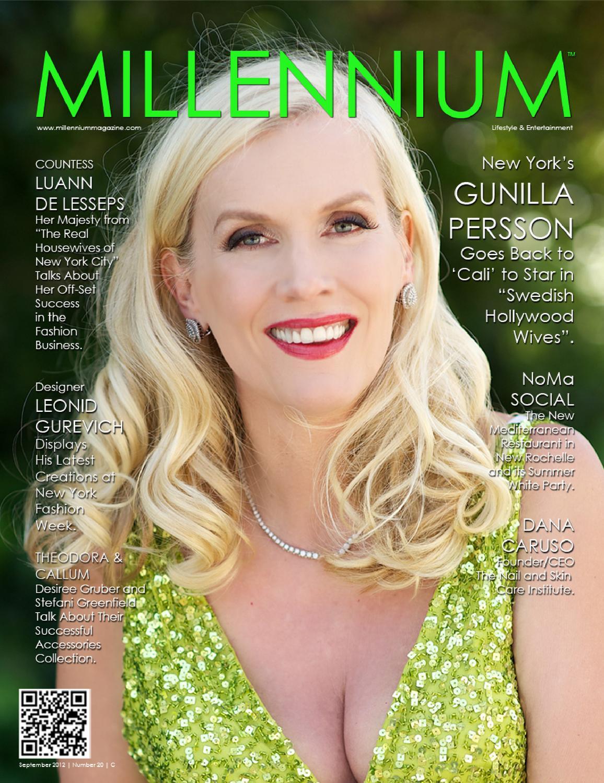 gunilla persson millennium magazine
