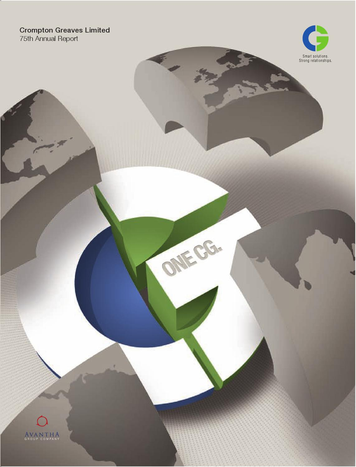 Crompton Greaves Limited Annual Report By Cross Section Details Of Generator Circuit Breaker Gcb Analyzer 102603843 Interactive Private Issuu