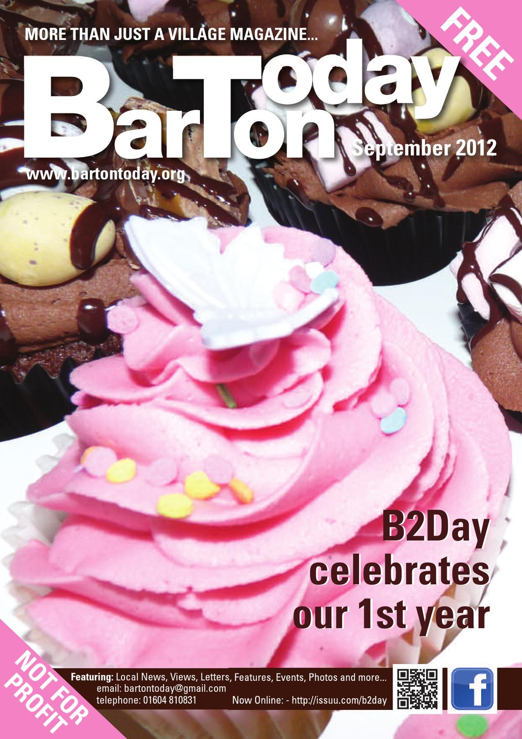 B2DAY SEPTEMBER 2012 by Barton Today - issuu