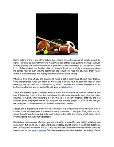 Online sports betting regulation w bitcoins 2021 liquidity