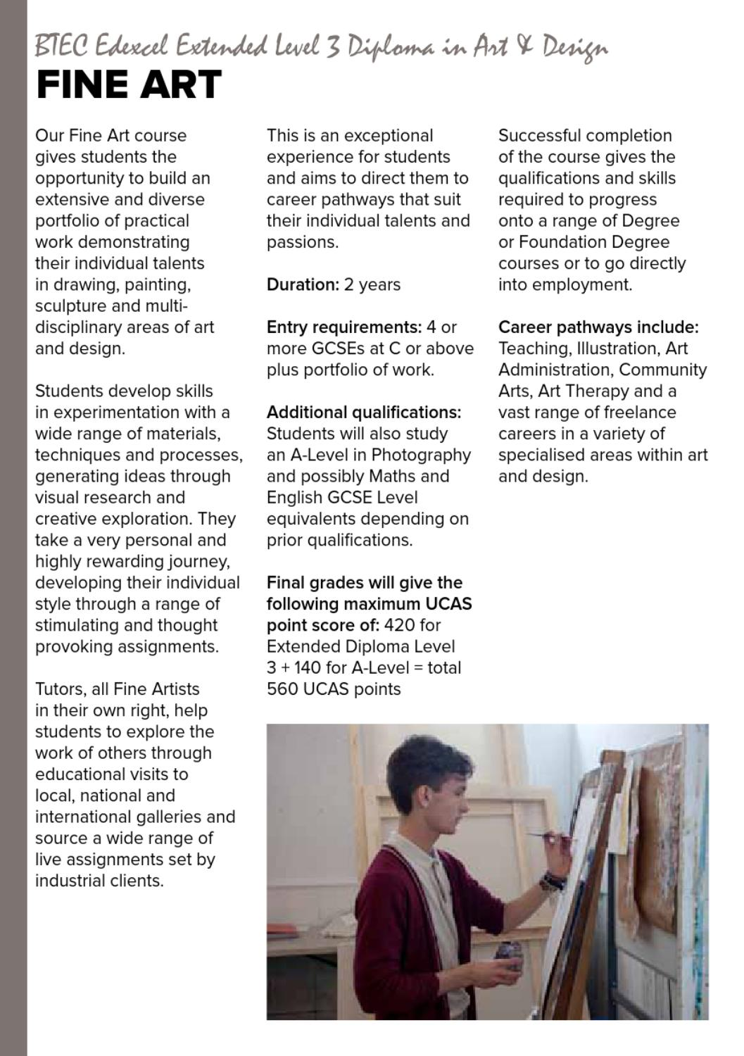 Ccad School Leaver Prospectus 2013 By The Northern School Of Art Issuu