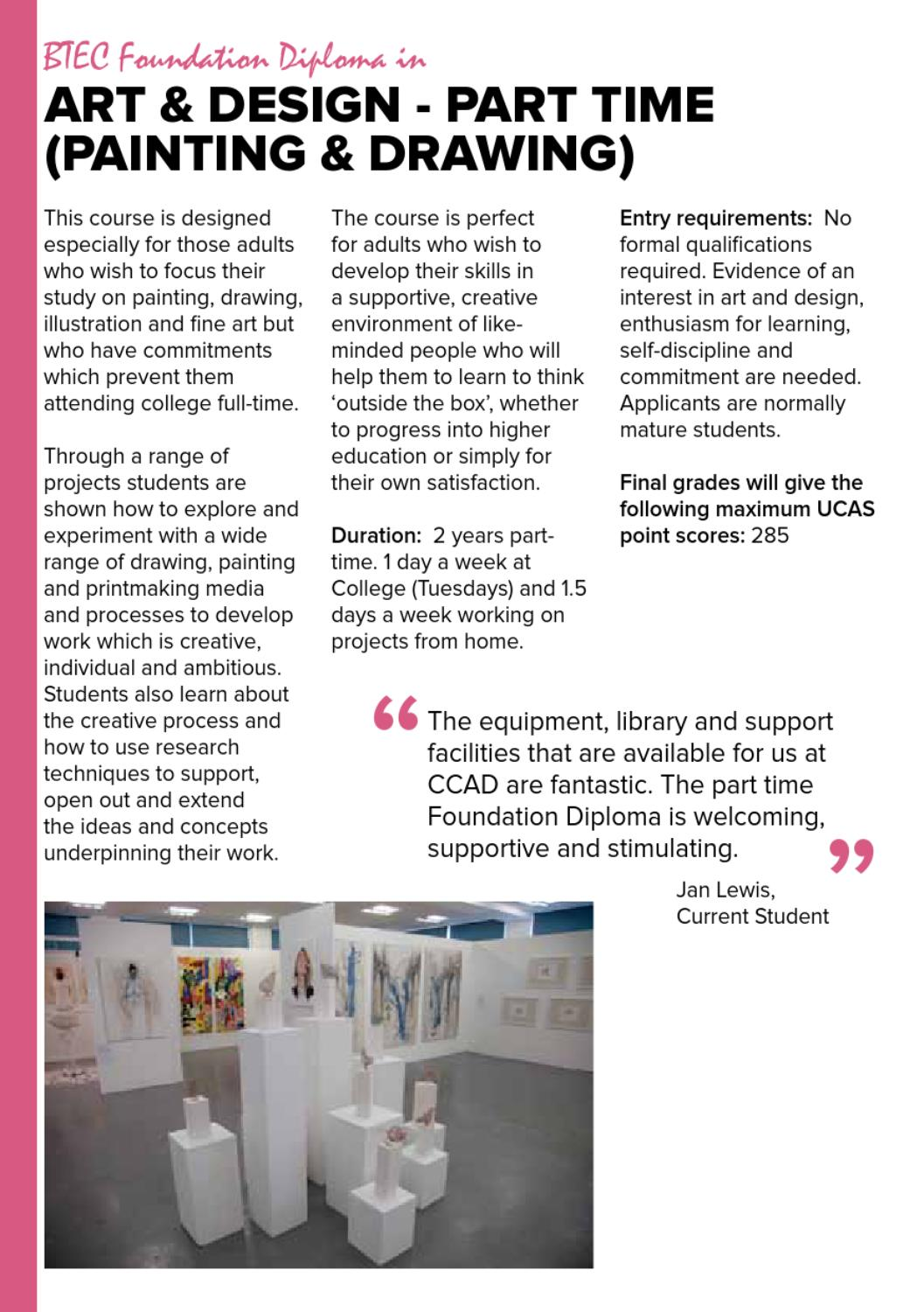 Ccad School Leaver Prospectus 2013 By The Northern School Of