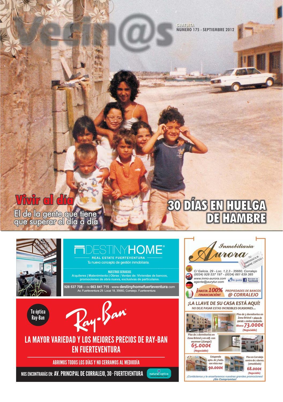 Vecinos De Fuerteventura 175 Septiembre 2012 By Paloma Presencio  # Muebles Ojeda Corralejo
