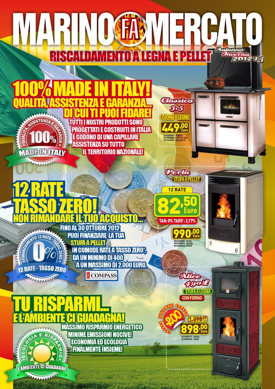 Marino fa mercato riscaldamento 2012 2013 by marino fa for Marino fa mercato letti