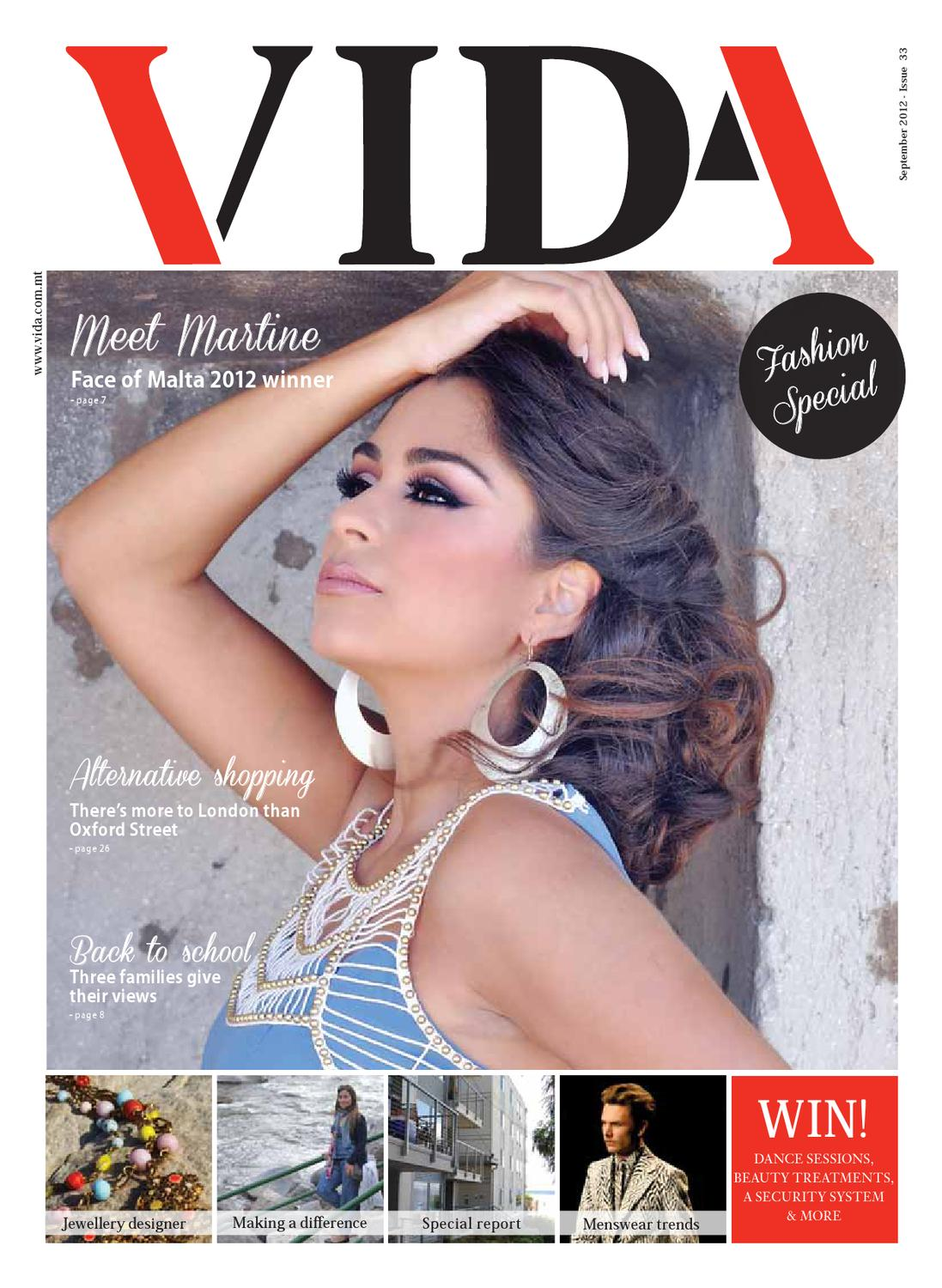 086cbb7fe8 Vida Magazine September 2012 - Issue 33 by Focused Knowledge Ltd - issuu