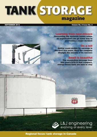 Tank Storage Magazine September Issue By Woodcote Media