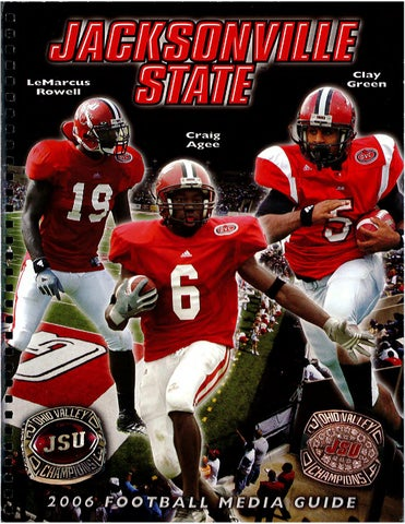 2012 JSU Football Media Guide by Jacksonville State Athletics - issuu a211410f1