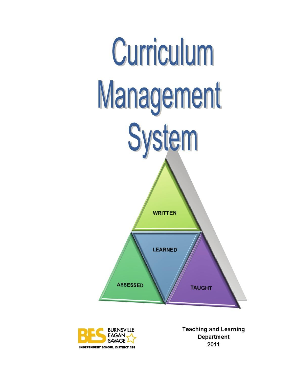 district 191 curriculum management system by burnsville-eagan-savage school district 191