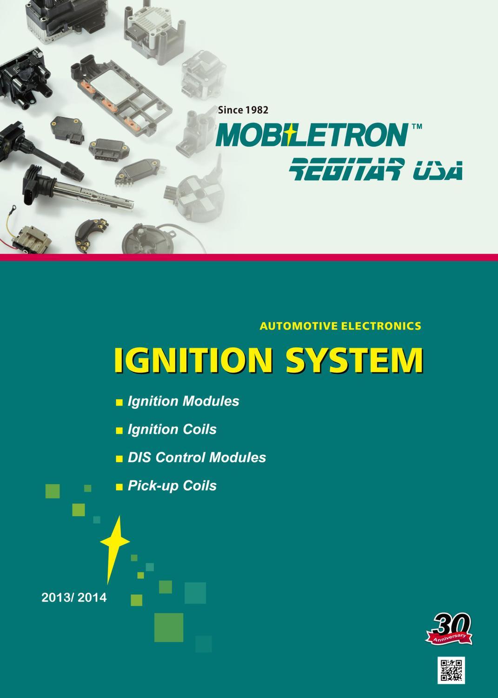 Ignition Coil MOBILETRON CJ-16