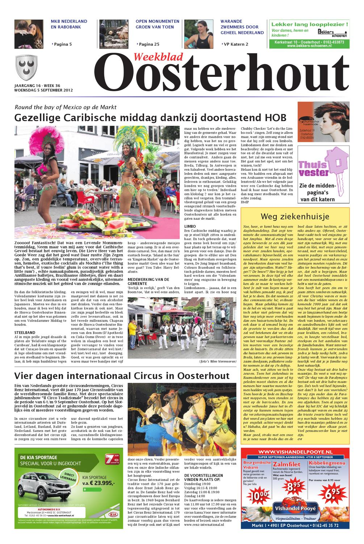 Weekblad Oosterhout B 05 09 2012 By Uitgeverij Em De Jong Issuu