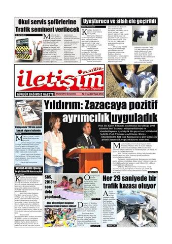 5 Eylul 2012 Carsamba Gazete Sayfalari By Mardin Iletisim Gazetesi