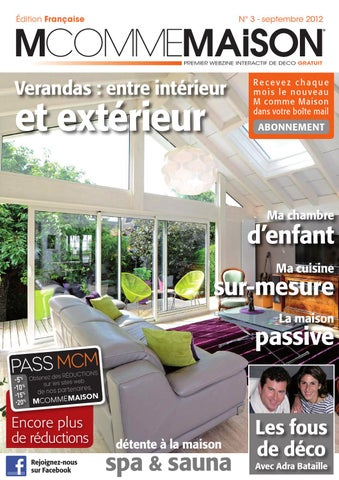 m comme maison n 3 septembbre 2012 by atenao issuu. Black Bedroom Furniture Sets. Home Design Ideas