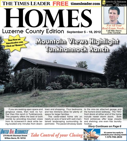 Times Leader Homes Luzerne Edition 09 05 2012 By The Wilkes Barre Publishing Company Issuu