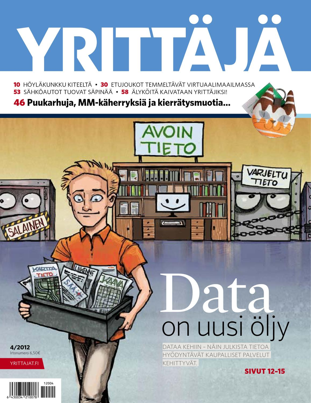 eca7ecda7e8 Yrittäjä 4/2012 by Suomen Yrittäjät - issuu