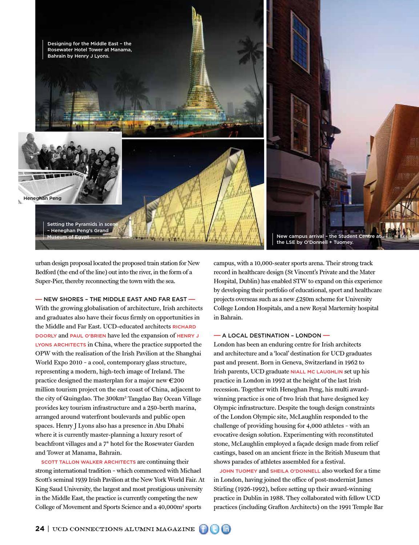 UCD_Connections_AlumniMagazine_2012_2013 by Gloss Publications Ltd