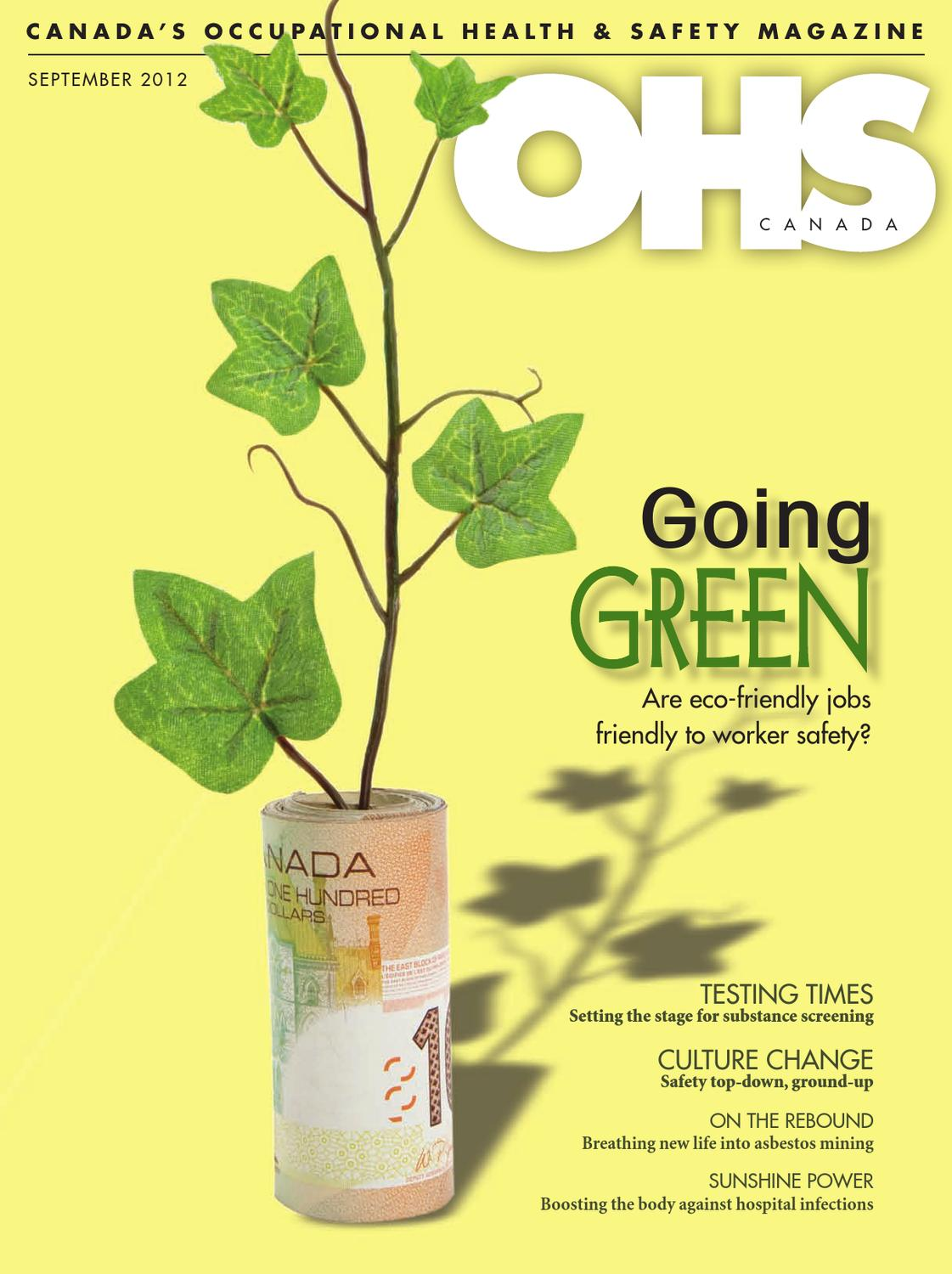OHS Canada September 2012 by Annex Business Media - issuu