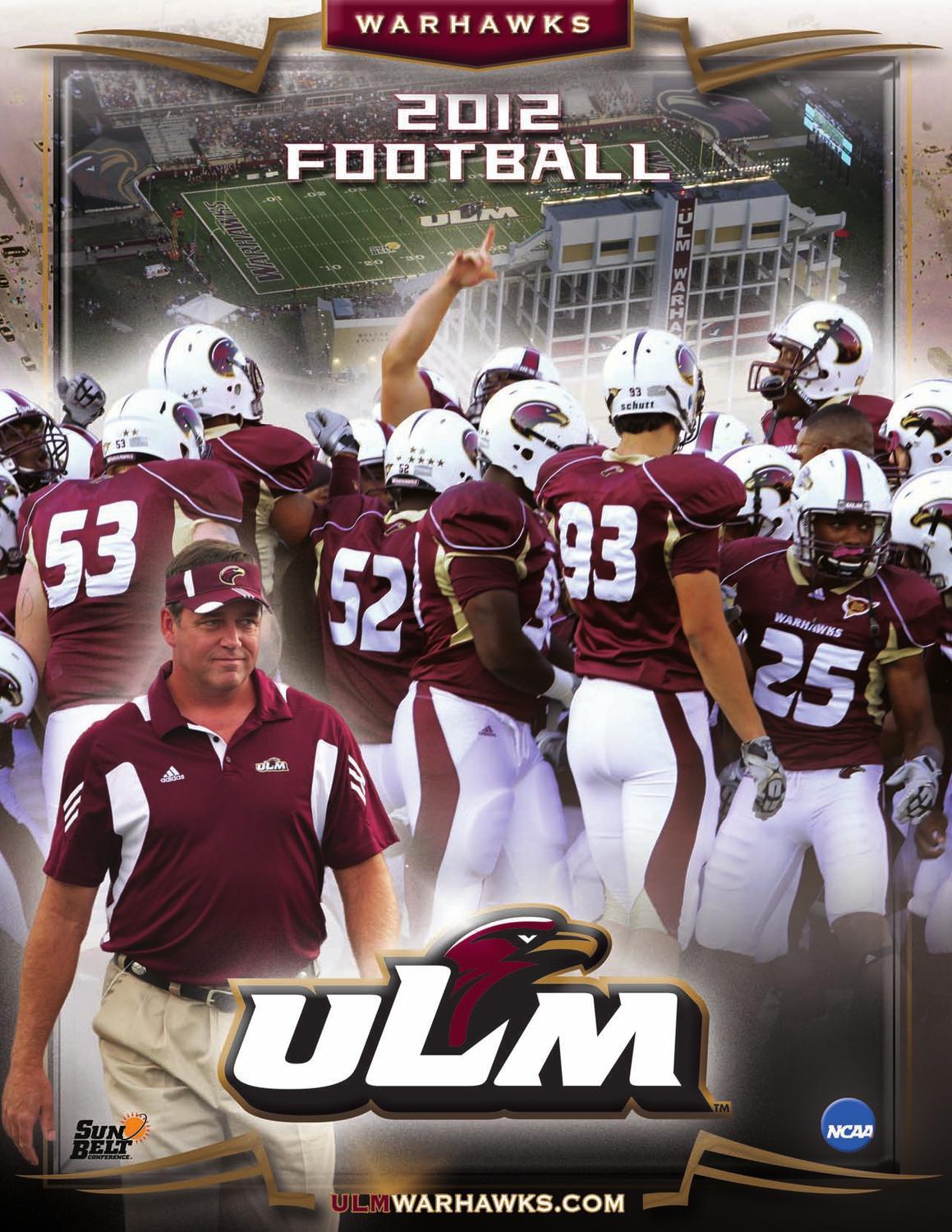 pretty nice 2e973 558f1 2012 ULM Football Guide by ULM - issuu