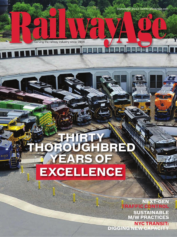 Sept 2012 Railway Age Magazine by Railway Age - issuu
