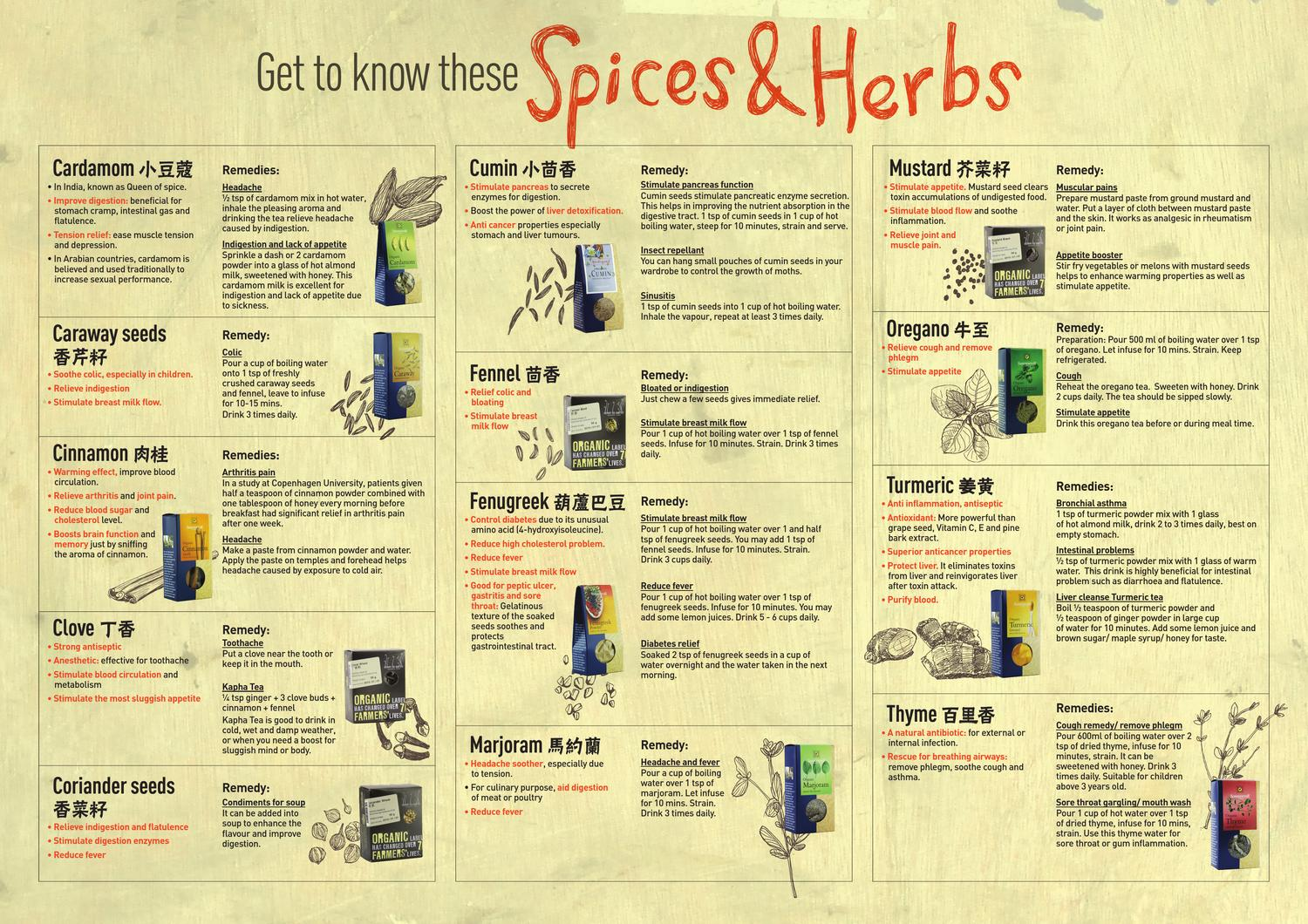 Spices & Herbs by Justlife Group Sdn Bhd - issuu