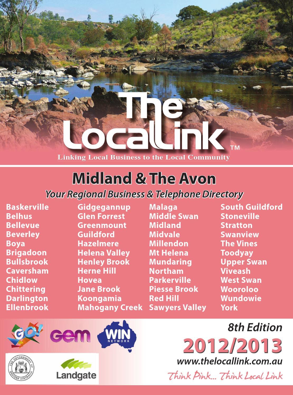 Midland The Avon 2012 13 By Local Link Issuu En Ji Palomino Herne Handbag Black