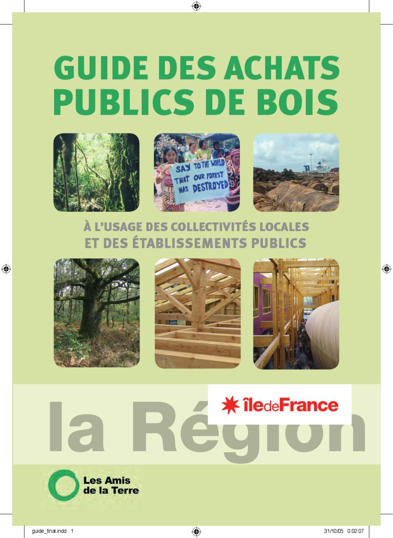 Bois Rétifié Prix M2 guide des achats publics de bois - région ile-de-france