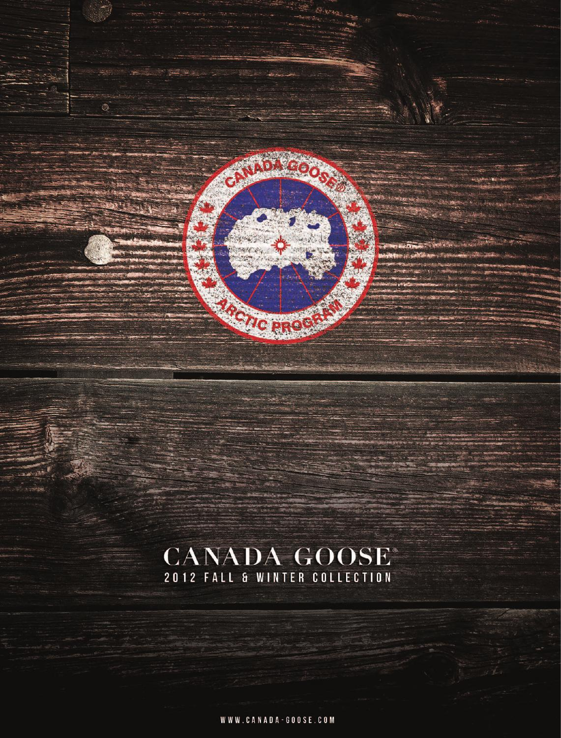 CANADA GOOSE Catalog 2013 by LEVELSPORTKONCEPT s.r.o. - issuu 87aff5659549