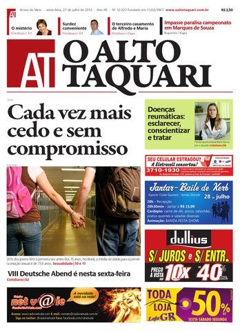 1b8faf491328c Jornal O Alto Taquari - 27 de julho de 2012 by Jornal O Alto Taquari ...
