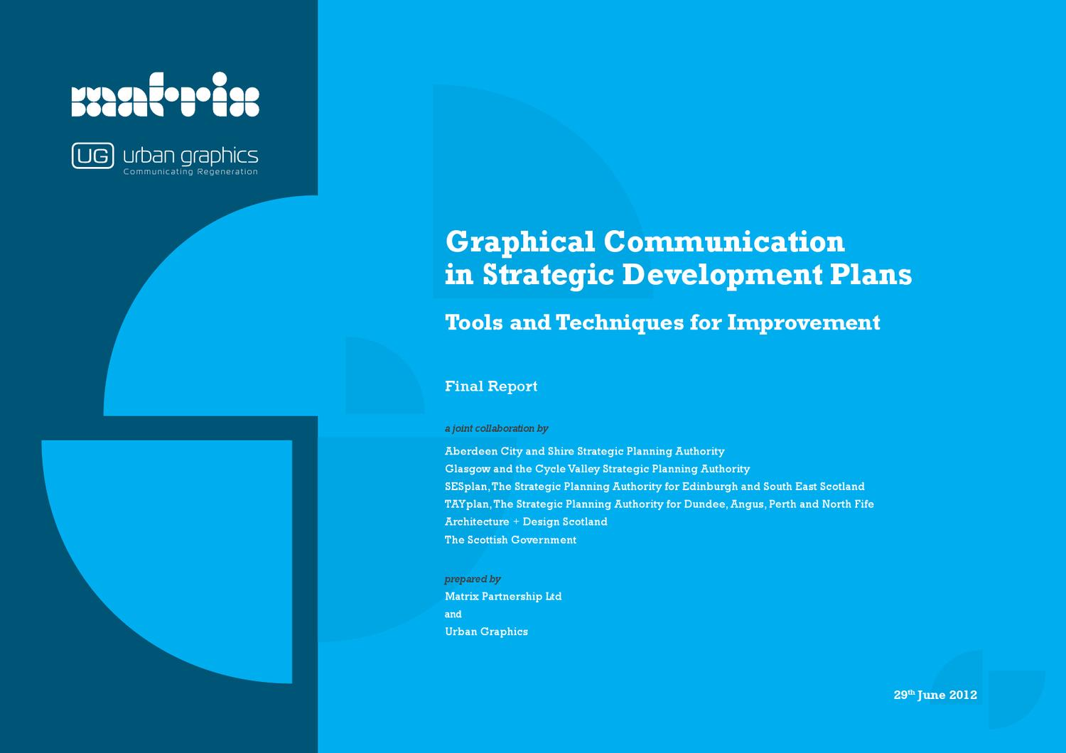 Graphical Presentation in Strategic Development Plans by ...