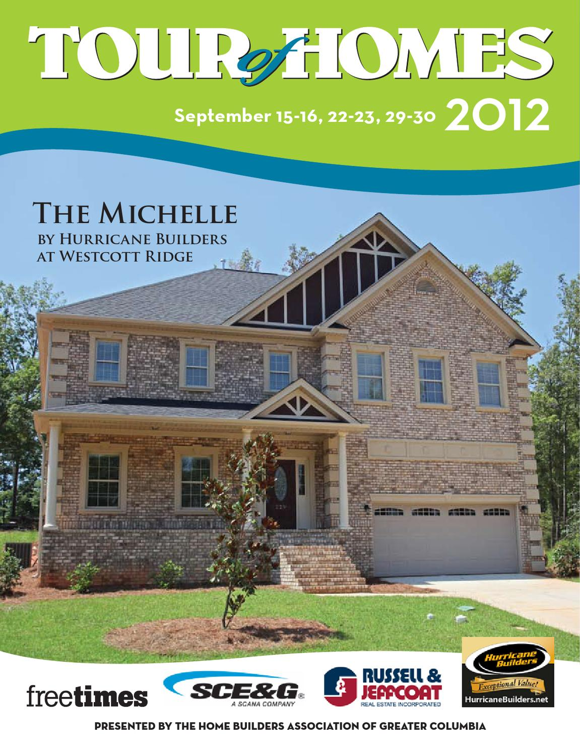 2012 tour of homes planbook by building industry association of