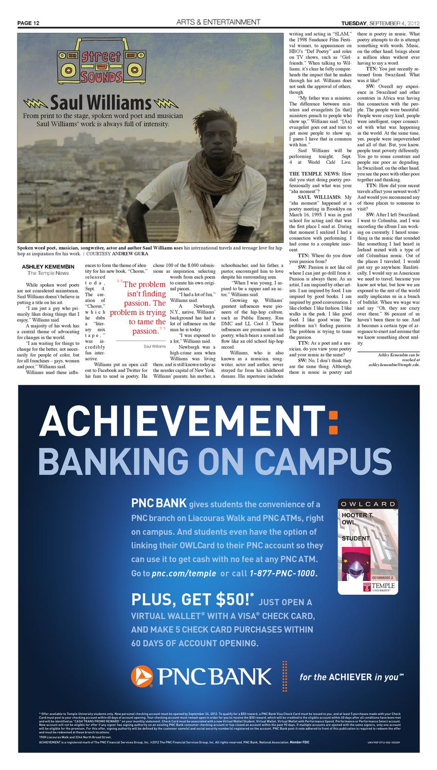 Volume 91, Issue 2 by The Temple News - issuu