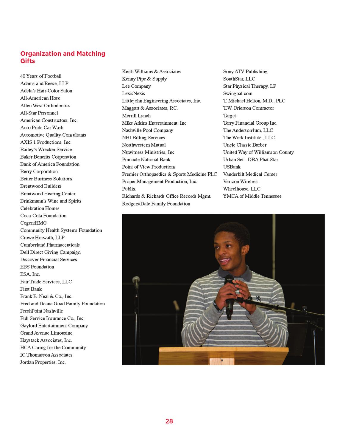 2011-2012 Annual Report by Brentwood Academy - issuu