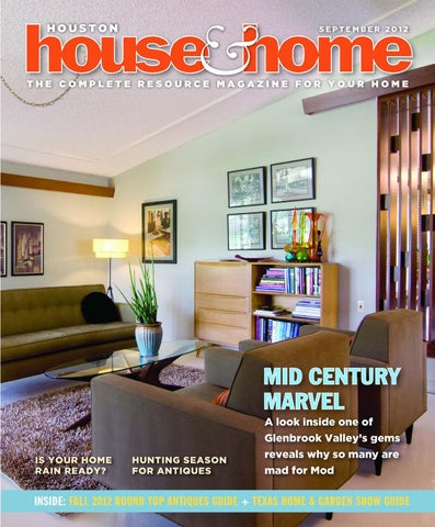Houston House & Home Magazine September 2012 Issue By Houston