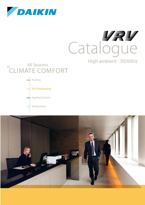 VRV Catalogue by Daikin Europe N V  - issuu
