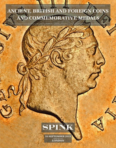 Ancient, British and Foreign Coins and Commemorative Medals 14006 by Spink  and Son - issuu