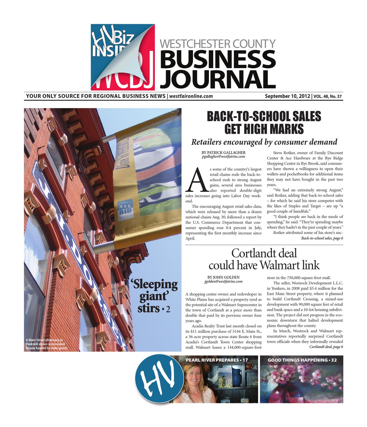 Westchester County Business Journal 9 10 2012 Issue By Wag Magazine