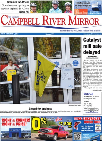 Campbell River Mirror, September 07, 2012 by Black Press Media Group